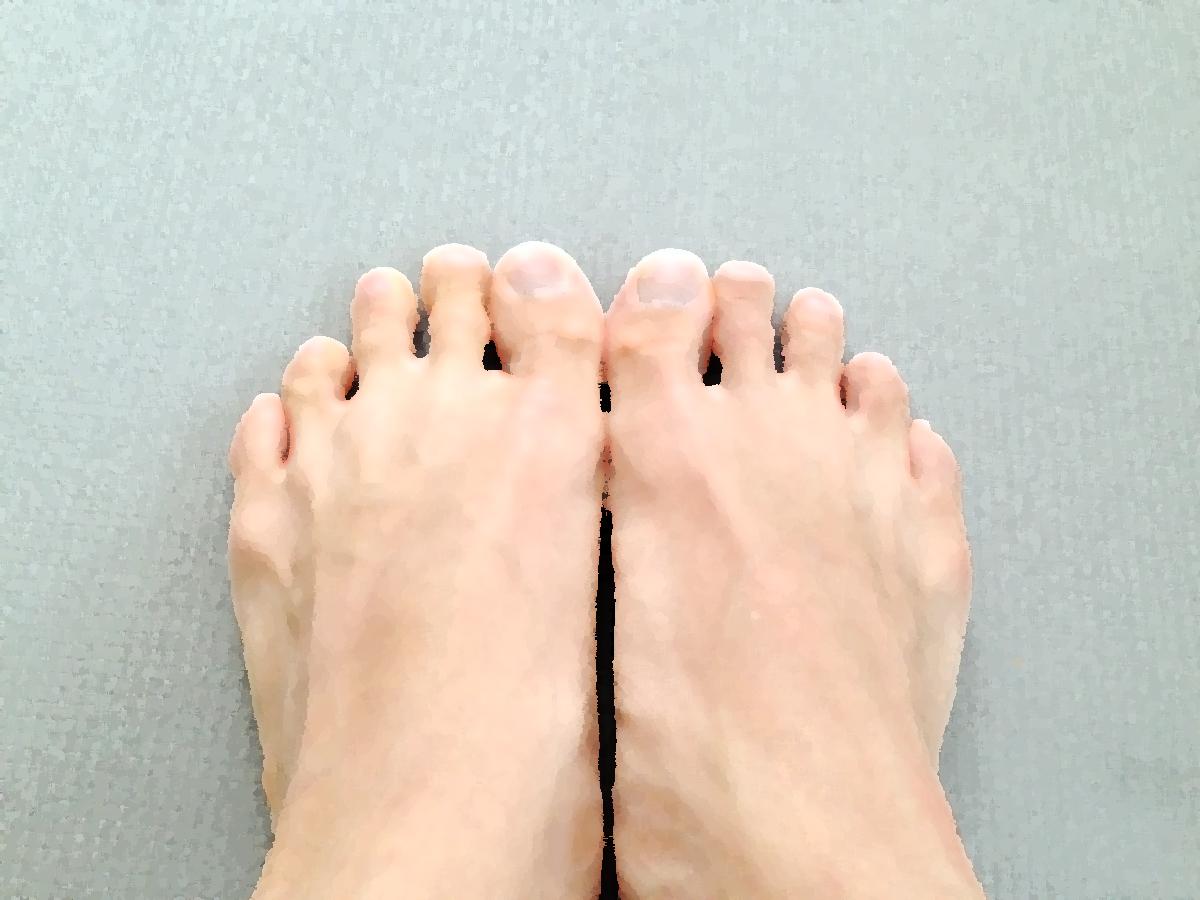 足指を整えましょう