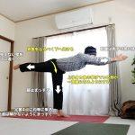 ヴィラバドラーサナⅢ(ウォーリアⅢ・戦士のポーズⅢ)〜姿勢改善、バランス、集中力、股関節の柔軟性〜