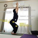 ウトゥカターサナ(椅子のポーズ・チェアポーズ)〜体幹強化、太ももシェイプアップ〜