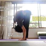 アルダバッダパドモッターナーサナ(半蓮華座を組んだ立位前屈ポーズ)〜バランス感覚・股関節の柔軟性〜