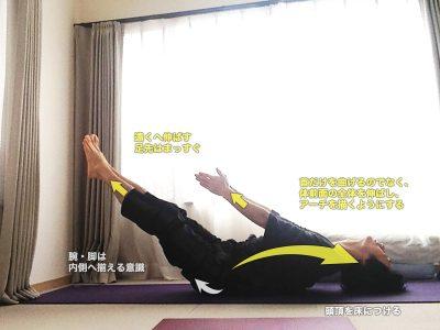 ウッターナパーダーサナ(強く脚を伸ばすポーズ)〜胸・喉を解放しながら、体幹を強化〜