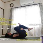 アイオブザニードル(針穴のポーズ・陰ヨガ)〜股関節を外回し、お尻の筋肉をストレッチ〜