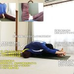 ジャーヌシルシャーサナC(坐位の片脚前屈・股関節外旋)〜足指・股関節を柔軟に、内臓をマッサージ〜