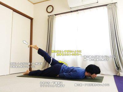 アルダシャラバーサナ(半分のバッタのポーズ)〜消化器系・腎臓の働きを高め、体の左右・前後のバランスを整える〜