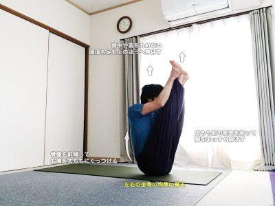 ウルドゥヴァムカパスチモッターナーサナ(上向きの背中を伸ばすポーズ)〜骨盤の歪みを直し、体幹と脚の筋肉を強化〜