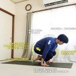 ローラーサナ(首飾りのポーズ)〜ジャンプバック・ジャンプスルーの練習〜