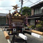 お祭り(住吉神社例祭)が終わりまして