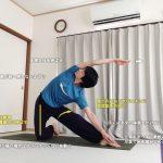 パリガーサナ(門のポーズ・かんぬきのポーズ)〜体側を伸ばし、股関節を柔軟に〜