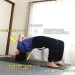グリーヴァーサナ(頭で支えるブリッジポーズ)〜首の筋力・背骨全体の柔軟性と安定性〜