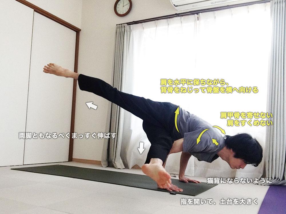 エーカパーダカウンディニャーサナⅠ〜背骨をねじる柔軟性・脚を伸ばして支える筋力〜