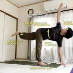 パリヴリッタアルダチャンドラーサナ 〜バランス感覚・体幹と脚力の強さ・ツイストの柔軟性を高める〜