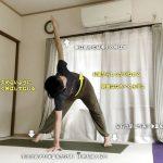 パリヴリッタプラサリタパドッターナーサナ 〜強くて柔軟な体幹をつくる〜