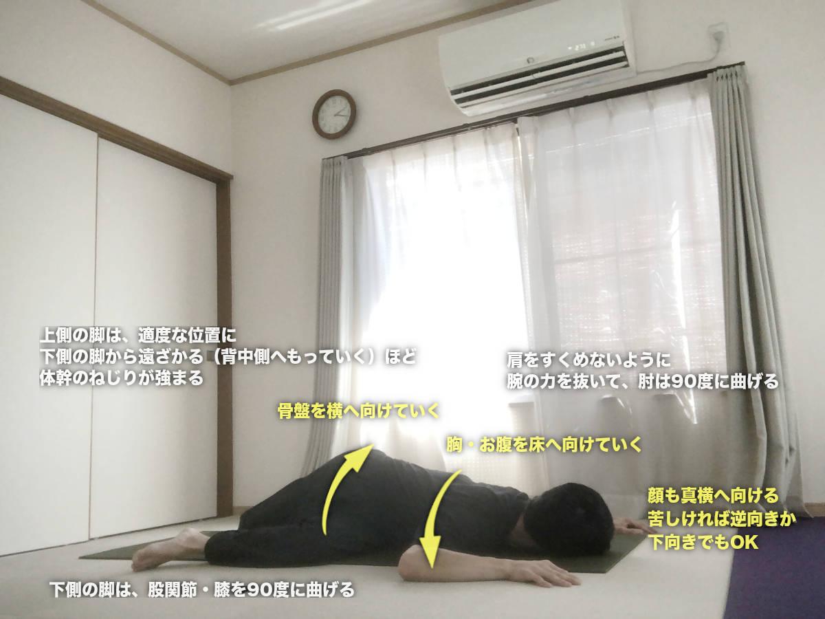 ダイイングウォーリア 〜背骨周りの深い部分をツイスト〜